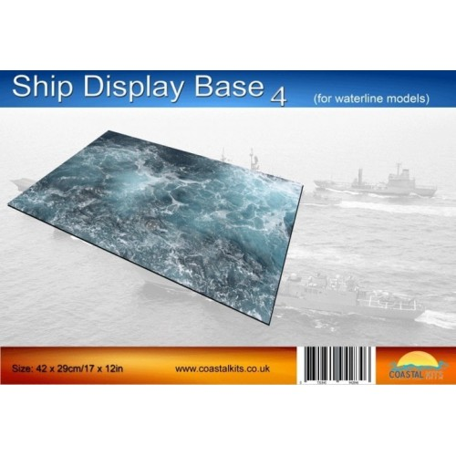 BASE EXPOSICION BARCO 4 (297 x 210 mm) - Coastal Kits CKS223