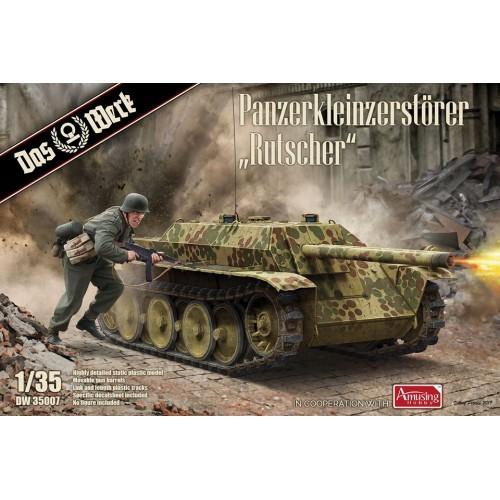 VEHICULO BLINDADO PANZERKLEINZERSTORER RUTSCHER -1/35- Das Werk DW35007