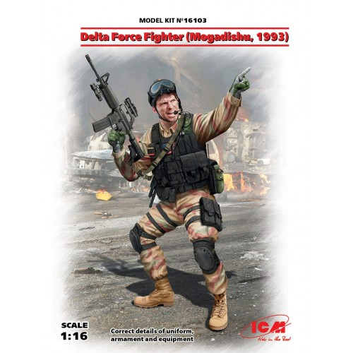 SOLDADO DELTA FORCE (Mogadiscio 1993) -1/16- ICM 16103