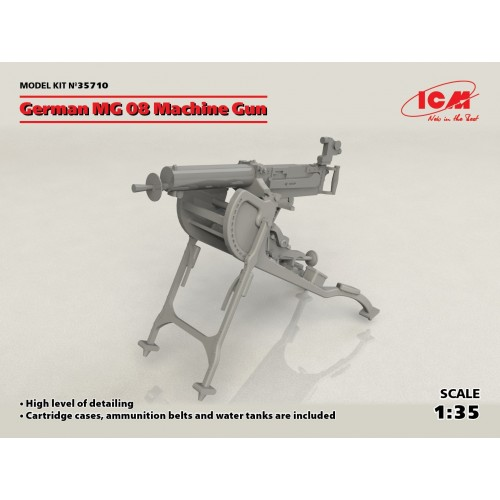 AMETRALLADORA MG-08 -1/35- ICM 35710