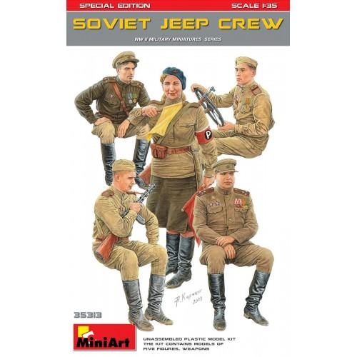 TRIPULACION SOVIETICA PARA JEEP -1/35- MiniArt 35313