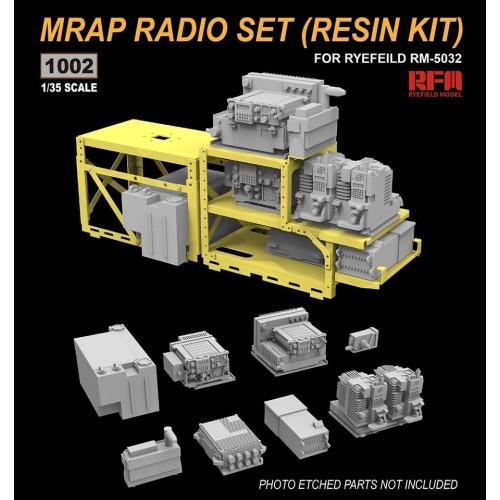 SET RADIOS RESINA MRAP -1/35- Rye Field Model 1002