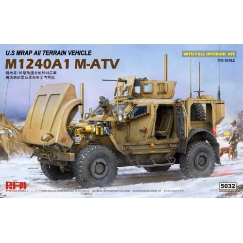 VEHICULO BLINDADO M-ATV (MRAP ALL TERRAIN VEHICLE) M-1024 A -1/35- Rye Field Model RM5032