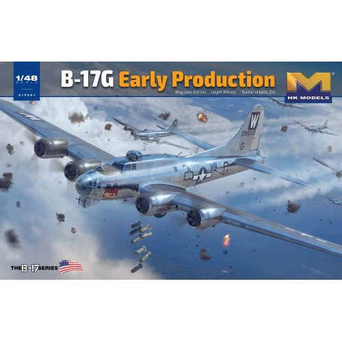 BOEING B-17 G FLYING FORTRESS -1/48- Hong Kong Models 01F001