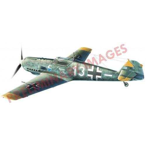 MESSERSCHMITT Bf-109 E-3 -1/48- Eduard 84157