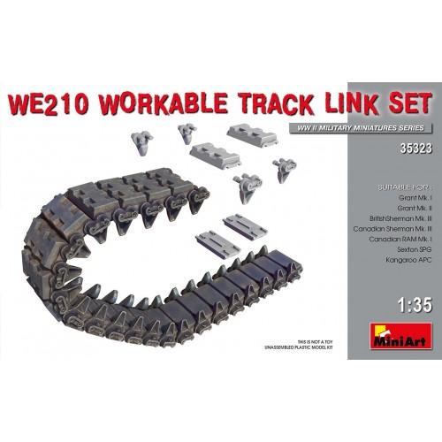 SET ORUGAS WE-210 (LEE / GRANT) -1/35- MiniArt 35323