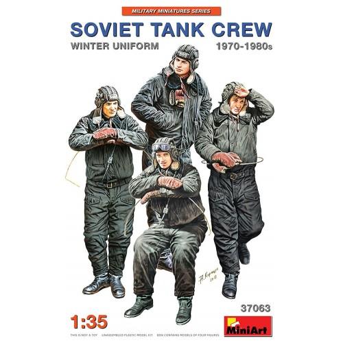 TRIPULACION DE CARRO SOVIETICA 1970-80 (Equipo Invierno) -1/35- MiniArt 37063