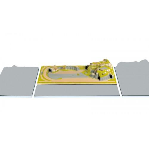 TOPORAMA: STAUFEN (1400 X 690 x 270 mm) Escala N