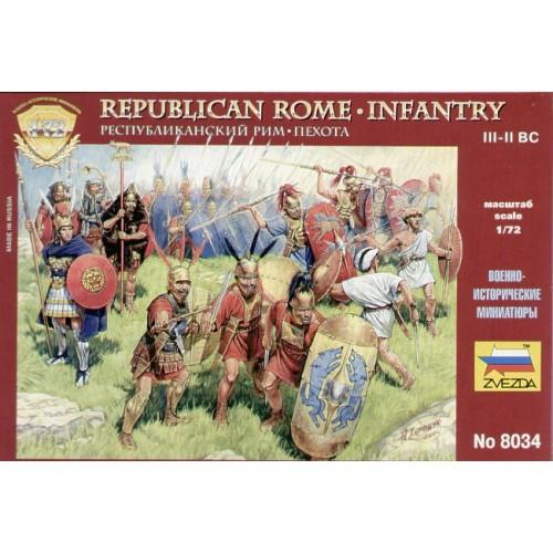 INFANTERIA REPUBLIC ROMANA (Siglo III - I A.C.)