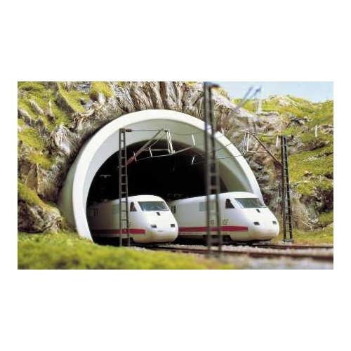 PORTAL TUNEL ICE DOBLE VIA N - BUSCH 8195
