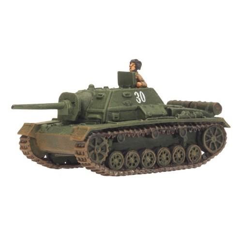 CAÑON AUTOPROPULSADO SU-76i