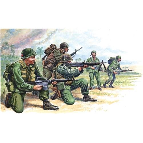 FUERZAS ESPECIALES USA (VIETNAM) ESCALA 1/72 50 MINIATURAS