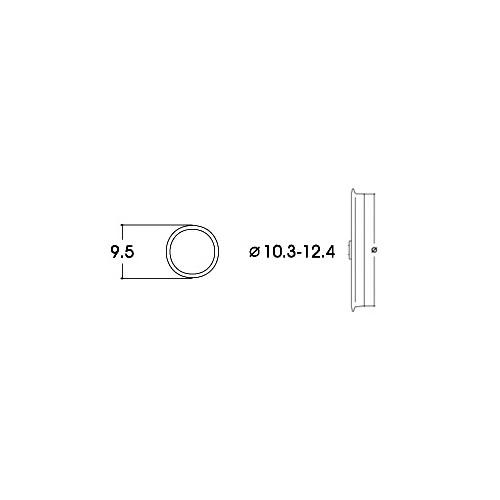 AROS ADHERENCIA 10,3 - 12,4 mm (10 unidades)