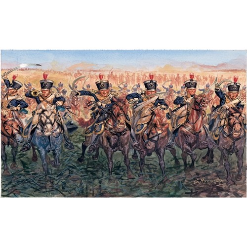 CABALLERIA LIGERA BRITANICA 1815 ESCALA 1/72 17 MINIATURAS - ITALERI 6094