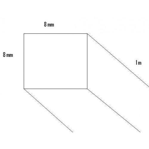 LISTON PINO (8 x 8 x 1.000mm)