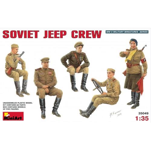 TRIPULACION SOVIETICA PARA JEEP