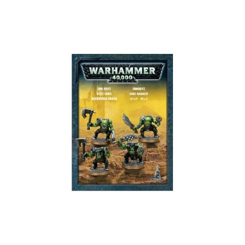 SPACE ORKS ETB X 4 - GAMES WORKSHOP 35-27