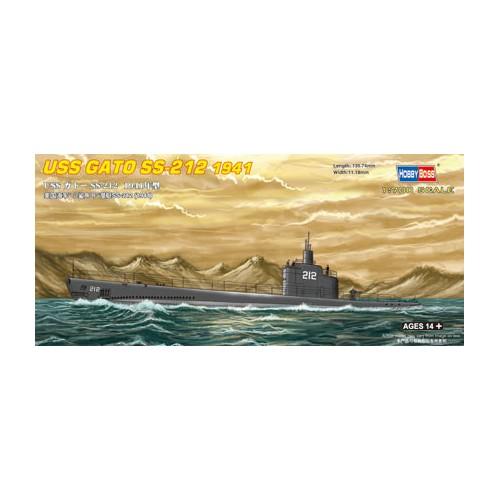 SUBMARINO USS GATO SS-212 1941 1/700