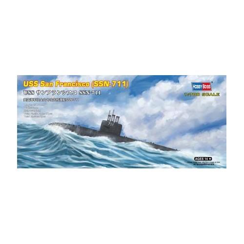 SUBMARINO USS SAN FRANCISCO SSN-711 1/700