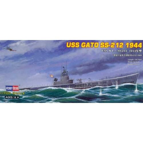 SUBMARINO U.S.S. GATO SS-212 1.944 1/700