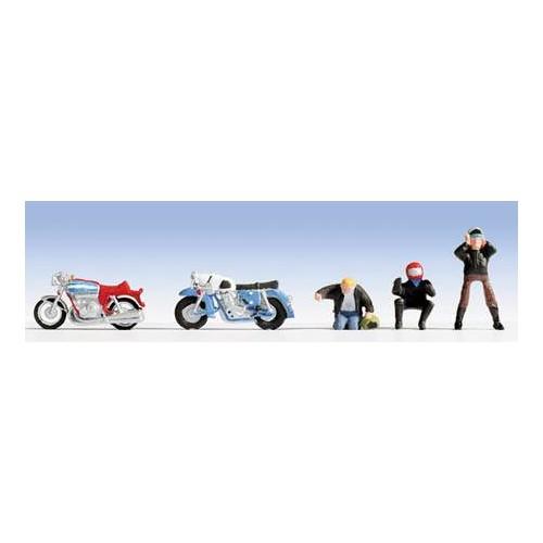MOTOS Y MOTOCICLISTAS  HO