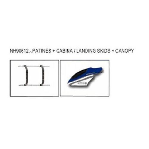 CABINA + PATINES (ALUMAX)