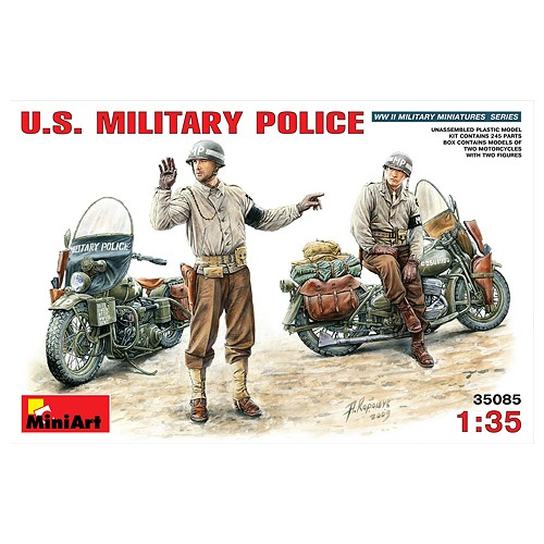 MOTOCICLETA U.S. (2 unidades) Y POLICIA MILITAR (2 unidades)