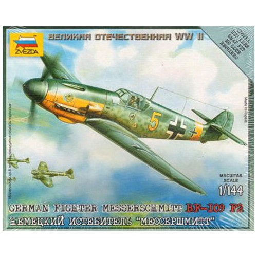 MESSERSCHMITT Bf-109 F2 1/144