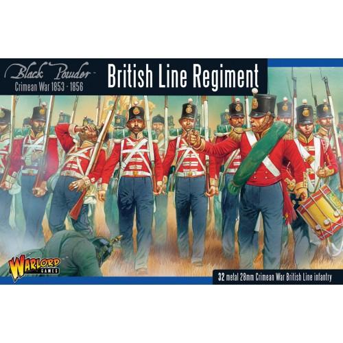 INFANTERIA DE LINEA BRITANICA (METAL) Guerra de Crimea 1.853 - 1.856