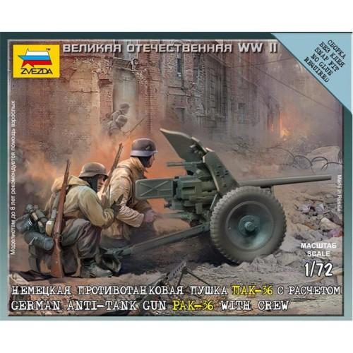 CAÑON ANTICARRO PAK-36 (37 mm) 1/72