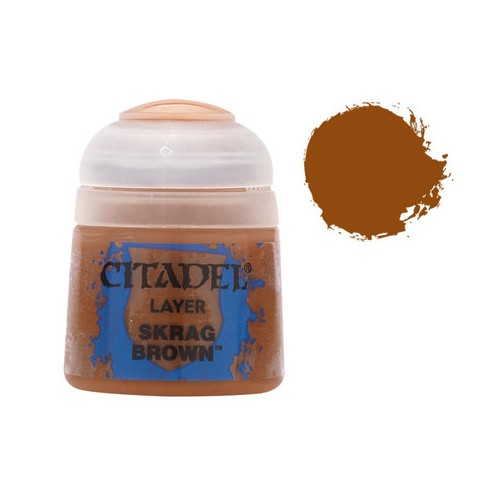 PINTURA ACRILICA LAYER SKRAG BROWN (12 ml)