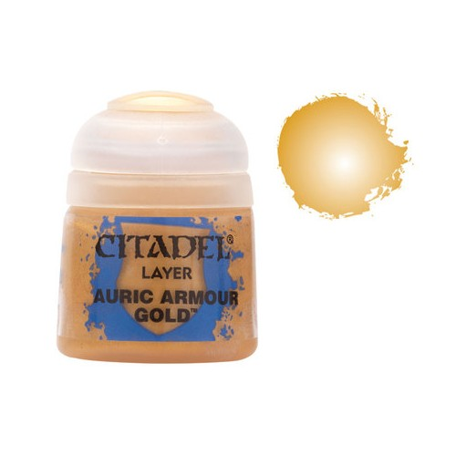 PINTURA ACRLICIA AURIC ARMOUR GOLD (12 ml)