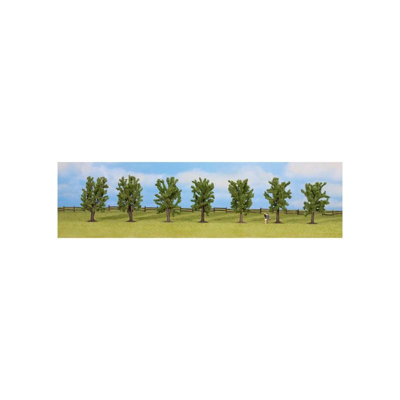 Arbol hoja caduca h0 tt n y z 80 mm 7 unidades for Lista de arboles de hoja caduca