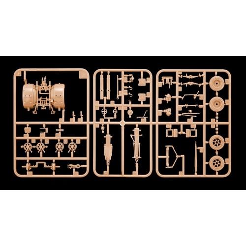 CAÑON ANTICARRO FLAK 37 (88 mm) escala 1/48 italeri 6602