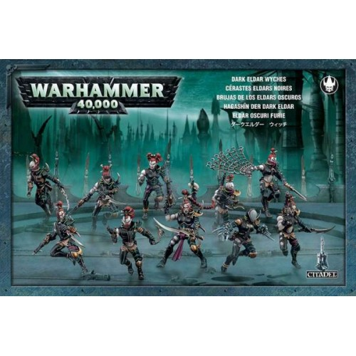 DARK ELDARS BRUJAS (10) - GAMES WORKSHOP 45-08
