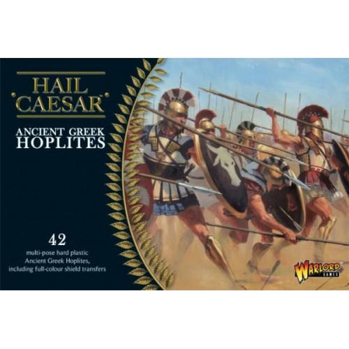 ANTIGUOS GRIEGOS, HOPLITAS (42 figuras) -1/56- Warlord Games WGH-GR-02