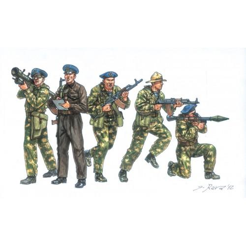 FUERZAS ESPECIALES SOVIETICAS (50 unidades) ESCALA 1/72 - ITALERI 6169