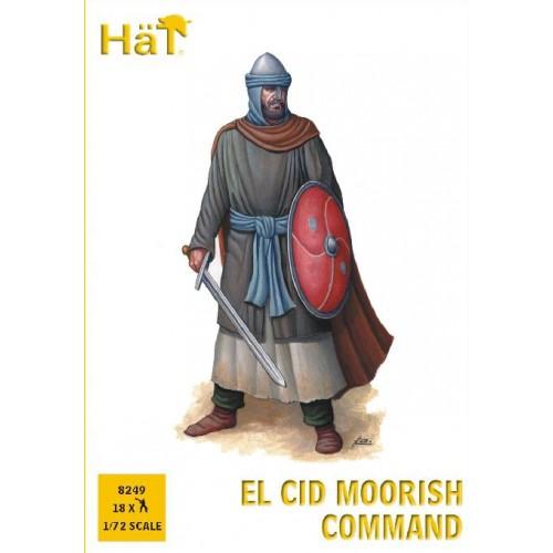 EL CID: GRUPO DE MANDO MORISCO (18 figuras)