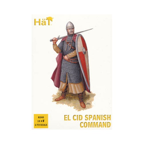 EL CID: GRUPO DE MANDO CRISTIANO (15 figuras)