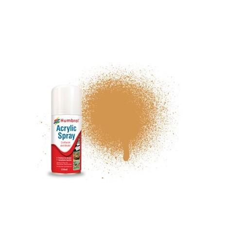 SPRAY ACRILICO ARENA MATE (150 ml) - Humbrol AD6063