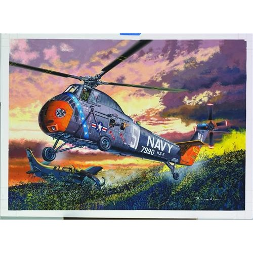 SIKORSKY H-34 CHOCTAW 1/48 - MRC 64102