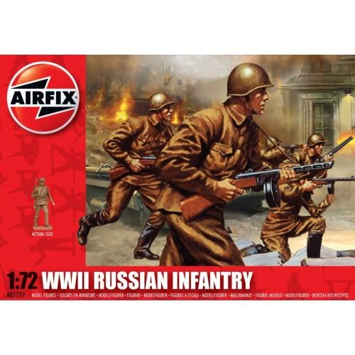 INFANTERIA RUSA 2ªGUERRA MUNDIAL 1/72 (41 figuras) - Airfix A01717