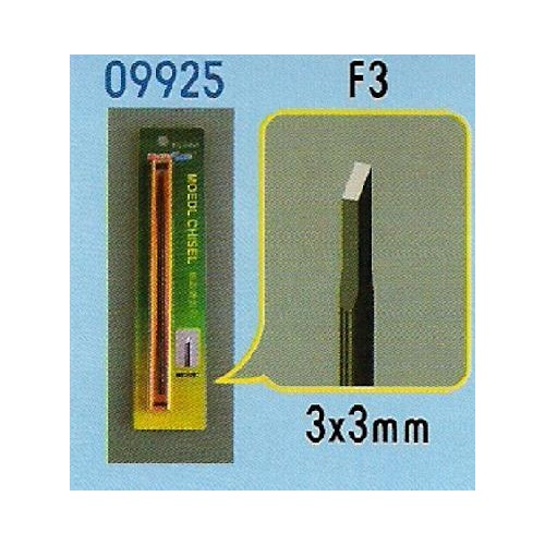 FORMON PARA MODELISMO F3 (3 x 3 mm) - Trumpeter Master Tools 09925
