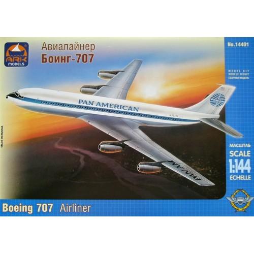 BOEING 707 -PAN AMERICAN- ARK 14401 - ESCALA 1/144