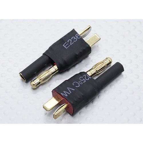 ADAPTADOR DE DEAN MACHO A CONECTOR ORO 4MM (unidad)