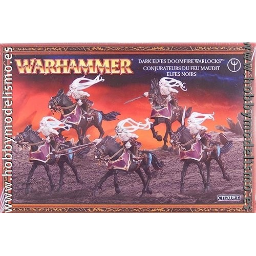 DAUGHTERS OF KHAINE DOOMFIRE WARLOCKS - GAMES WORKSHOP 85-14