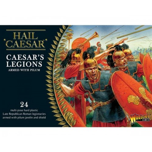 LEGIONARIOS ROMANOS & PILUM (24 figuras) -1/56- Warlord Games WGH-CR-02
