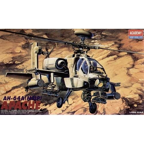 HUGHES AH-64 A APACHE (MSIP) - escala 1/48 - academy 12262