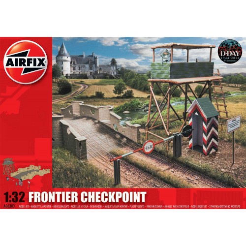 CHECKPOINT Y PUENTE -1/32- Airfix A06383