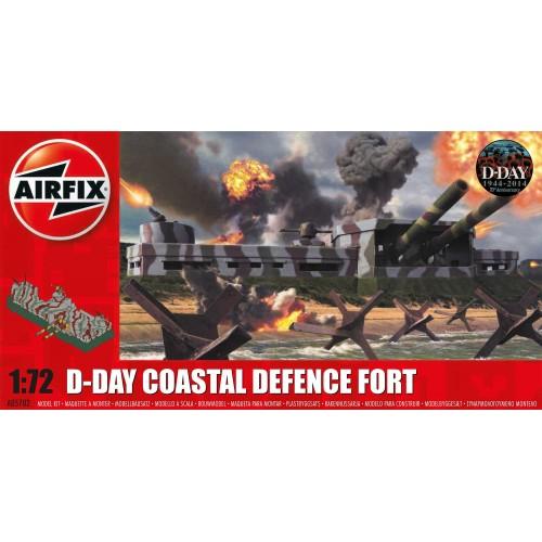 DIA D: FUERTE DE DEFENSA COSTERO 1/76 - Airfix A05702